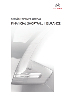 Citroen Financial Shortfall Insurance