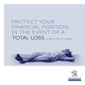 Peugeot Financial Shortfall Insurance