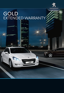 Peugeot Gold Extended Warranty