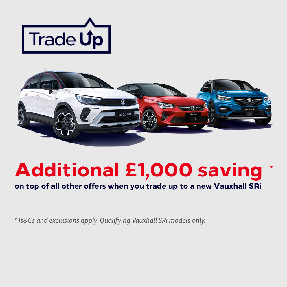 Vauxhall Trade Up Event