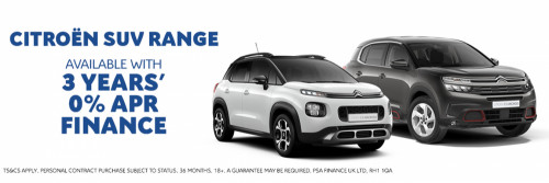 Citroen SUV - 0% APR