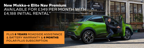 All-new Mokka-e Personal Contract Hire Offer