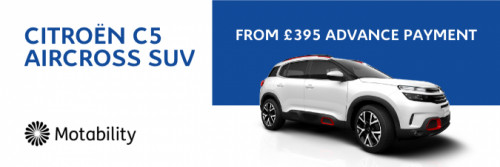 C5 AIRCROSS SUV from £395 Advance Payment
