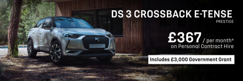 DS 3 CROSSBACK E-Tense - Personal Contract Hire