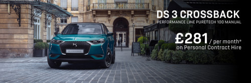 DS 3 CROSSBACK - Personal Contract Hire