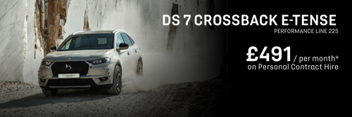 DS 7 CROSSBACK E-Tense - Personal Contract Hire