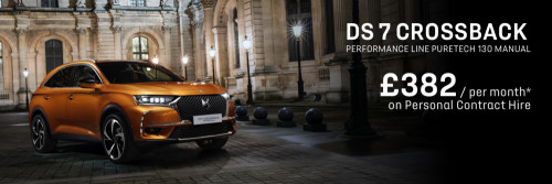 DS 7 CROSSBACK - Personal Contract Hire