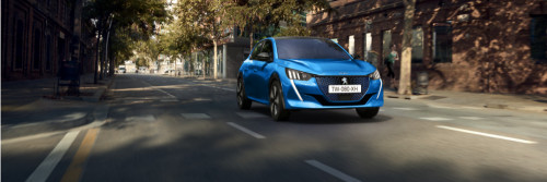 All new Peugeot e-208 Active