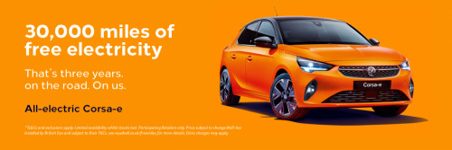 All-new Vauxhall Corsa-e Offer