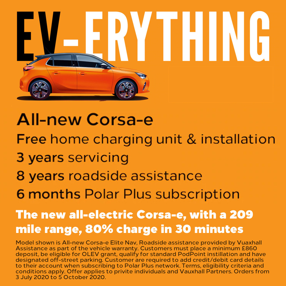 All-new Vauxhall Corsa Ev-erything