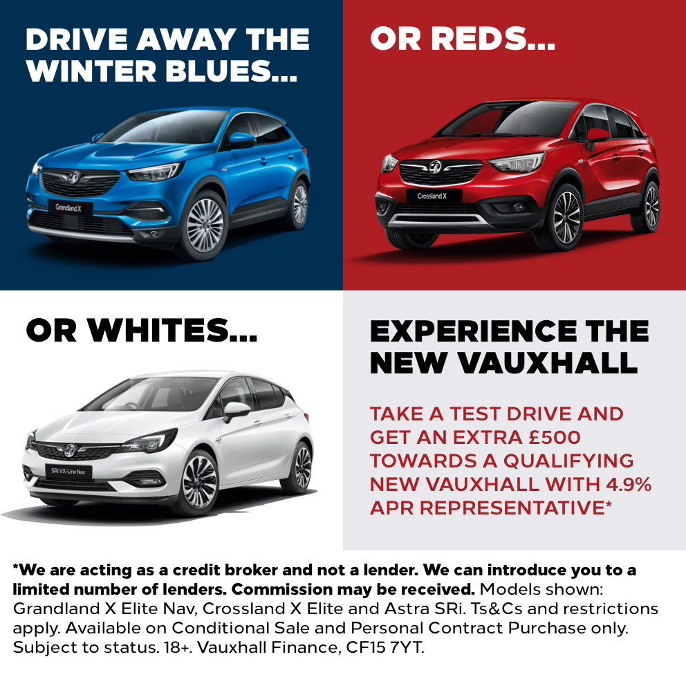Experience The New Vauxhall