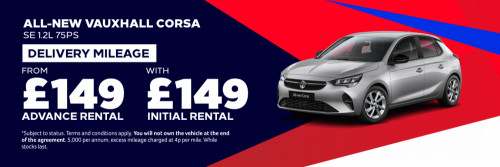 All-New Corsa from £149 Per Month