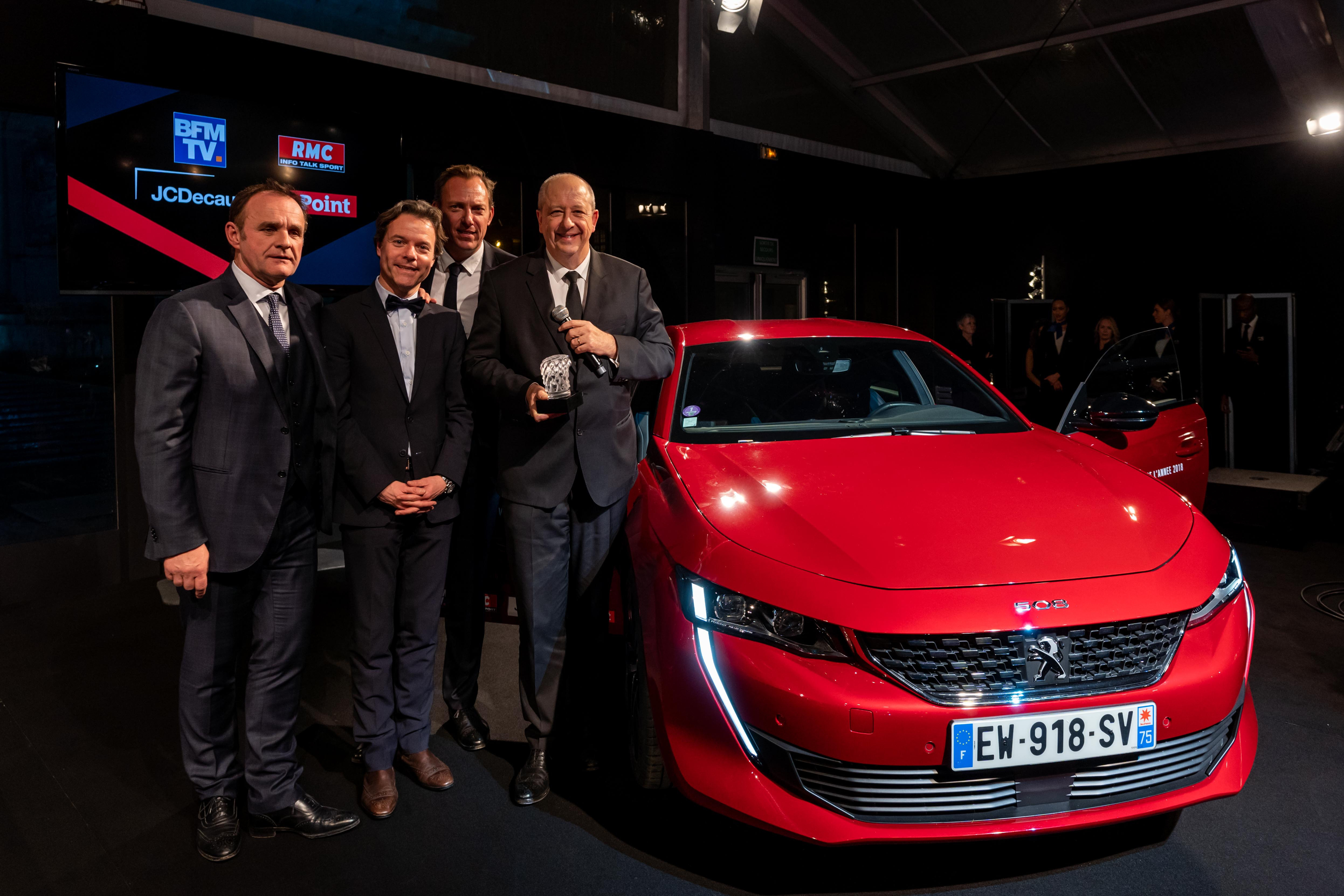 "New Peugeot 508 voted ""Most Beautiful Car of the Year 2018"""