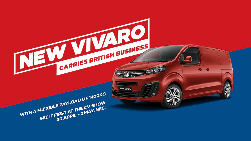 new authentic official site customers first New Vauxhall Vivaro - see it first!