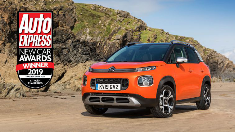 Citroen celebrate double win at Auto Express New Car Awards 2019
