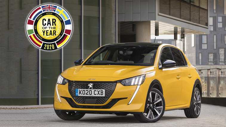 """All-New Peugeot 208 Named """"Car Of The Year 2020"""