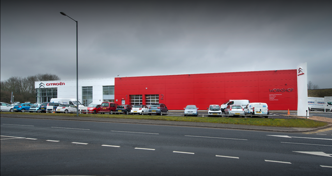 Citroen Birmingham open for business at alternative sites following fire – see below