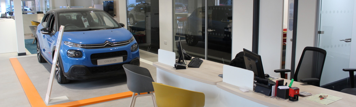 Citroen Hatfield  Showroom Redevelopment