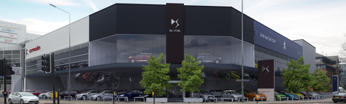 Peugeot Chiswick move to London West site during redevelopment