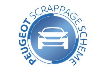 Launch of Peugeot Scrappage Scheme