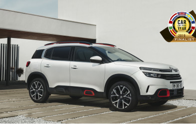 New Citroen C5 Aircross SUV shortlisted for 2019 Car of the Year