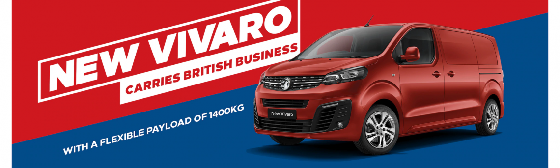 New Vauxhall Vivaro - see it first!
