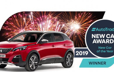 Peugeot 3008 SUV awarded 'New Car of the Year'