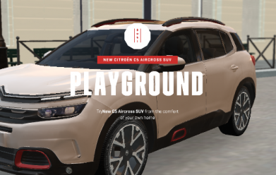 New Citroen C5 Aircross SUV 'Playground'