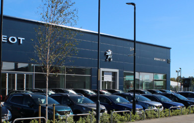 Robins & Day Peugeot Maidstone celebrate official opening following re-development
