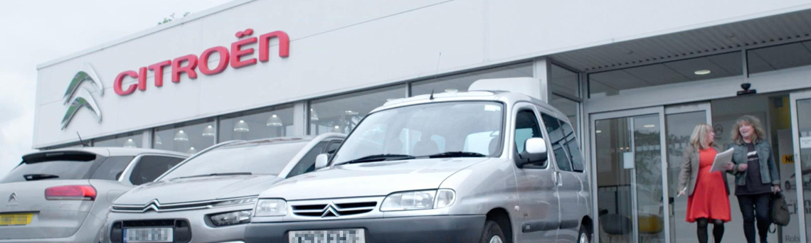 Robins & Day Citroen Redditch Support Community Charity Vehicle Repair