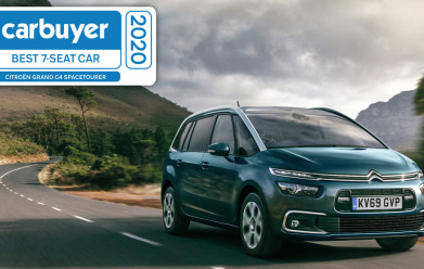 GRAND C4 SPACETOURER SECURES 'BEST SEVEN-SEAT CAR' TITLE AT CARBUYER AWARDS 2020