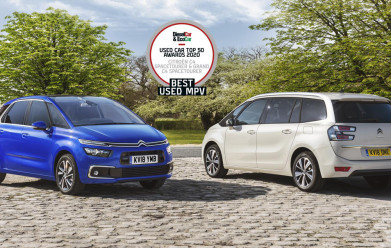 Citroën Scoops 'Best Used MPV' Title In Diesel Car & Eco Car Magazine Used Car Top 50