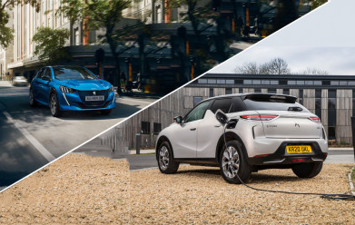 PEUGEOT & DS COVER THE CHARGE-DIFFERENCE TO MAINTAIN £3,500 ELECTRIC VEHICLE FUNDING