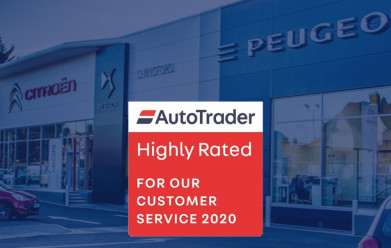 Auto Trader's Highly Rated Retailers 2020