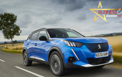 Peugeot E-2008 Scoops 'Best Electric Car' Title At The Business Car Awards