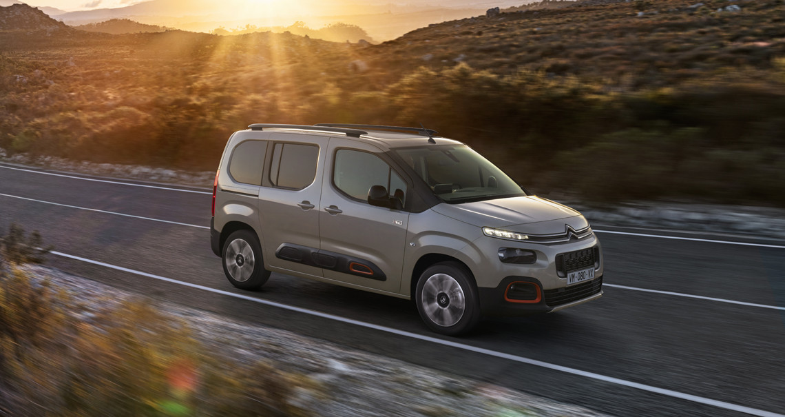 Citroën Berlingo named 'MPV of the Year' in Company Car Today CCT100 Awards 2021