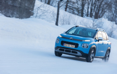 Citroën reveals a 29% drop in the number of days councils spend gritting the roads as UK faces yet another cold snap
