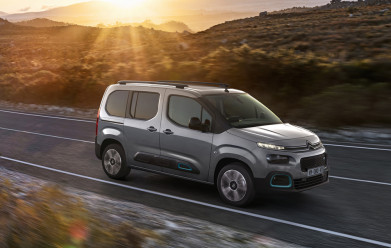 Citroen expands its electric range with new ë-Berlingo