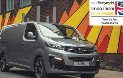 Vauxhall Vivaro-e wins Van of the Year at Van Fleet World Awards