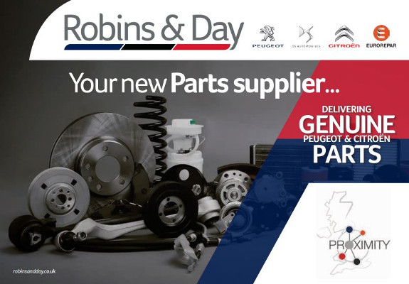 Robins & Day Parts Hubs