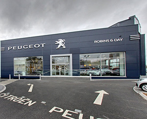 Robins & Day Peugeot Chingford
